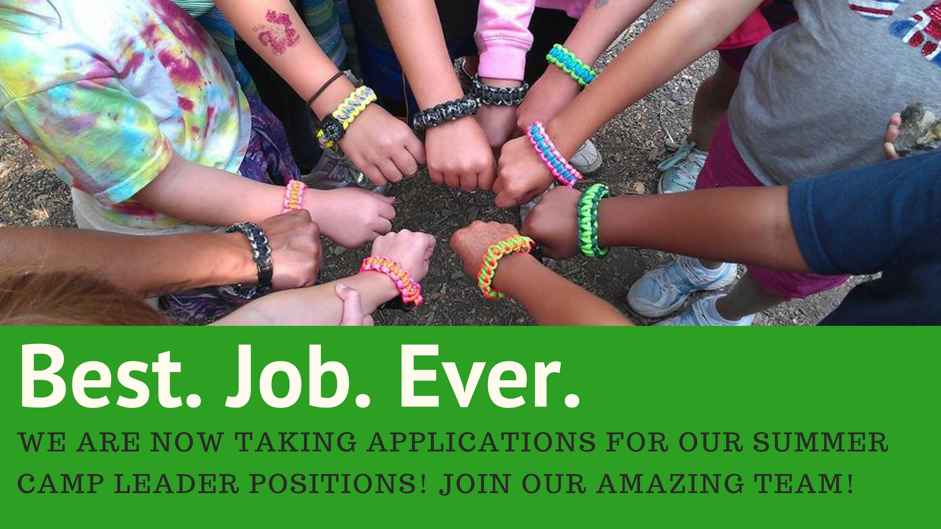 Now Hiring Summer Camp Staff!