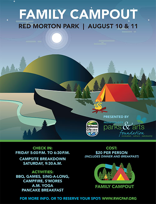 RWCPAF Family Campout Flyer 2018