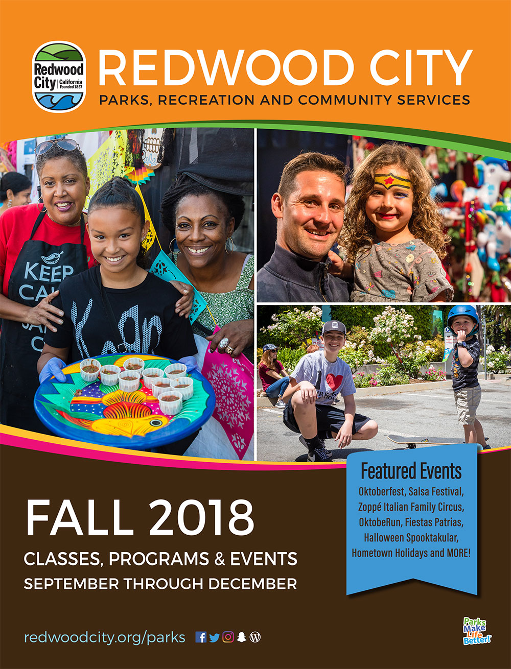 Redwood City Fall 2018 Activity Guide