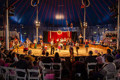 zoppe circus tent