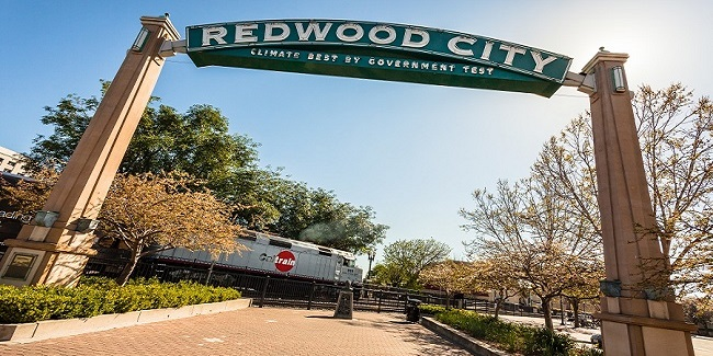 Historic Maps Of Redwood City