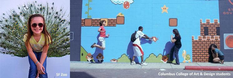 Interactive Wall Art Project   City of Redwood City