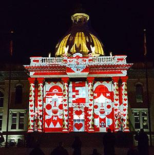 3D Light Show magic lantern 3d light show | city events calendar | city of