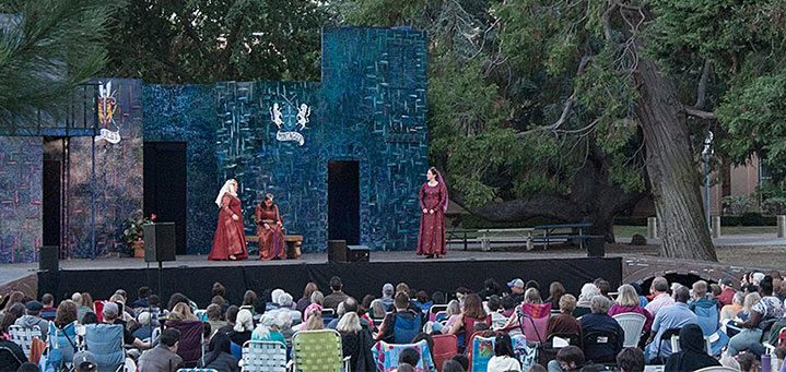 shakespeare in the park redwood city