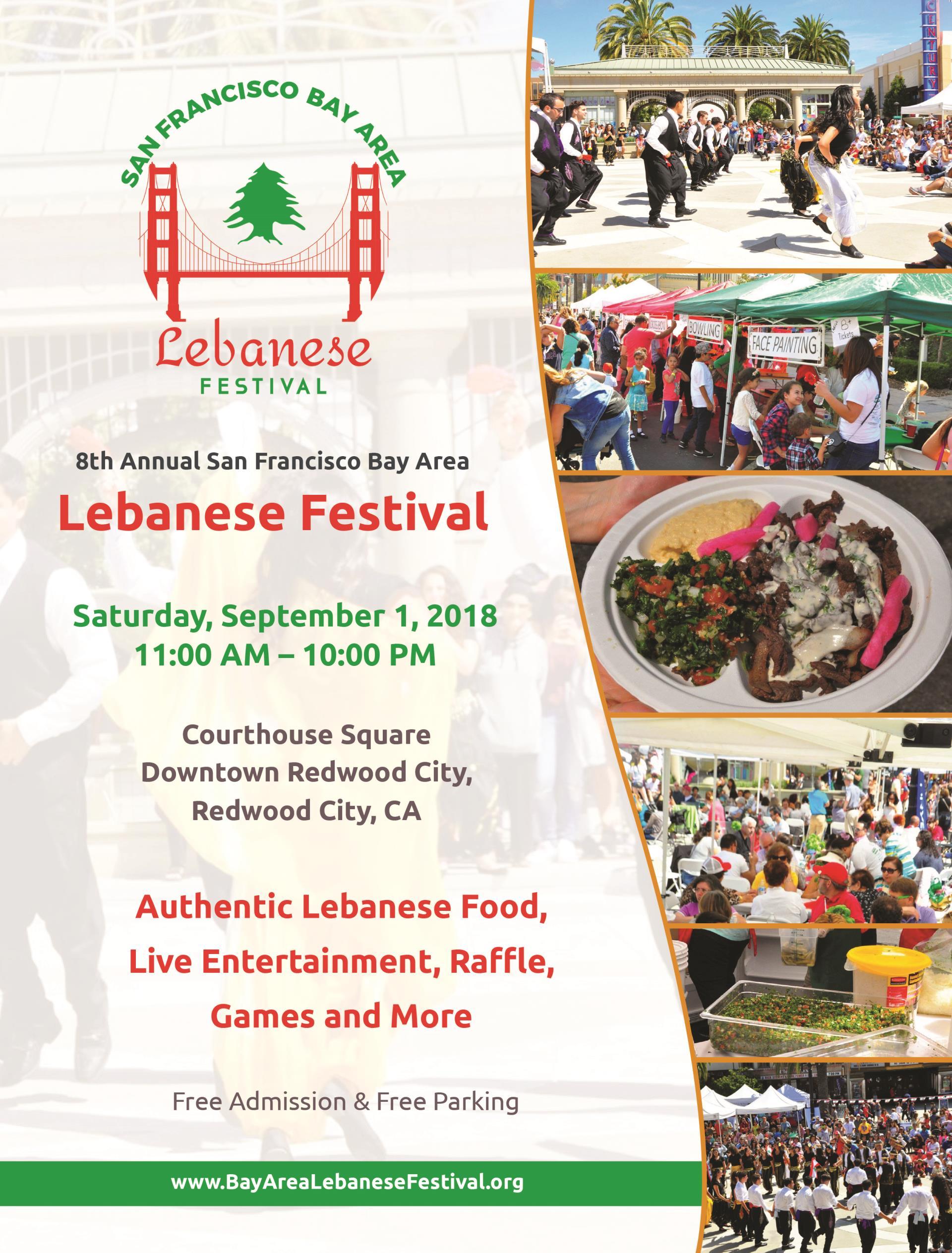 8th Annual San Francisco Bay Area Lebanese Festival | City