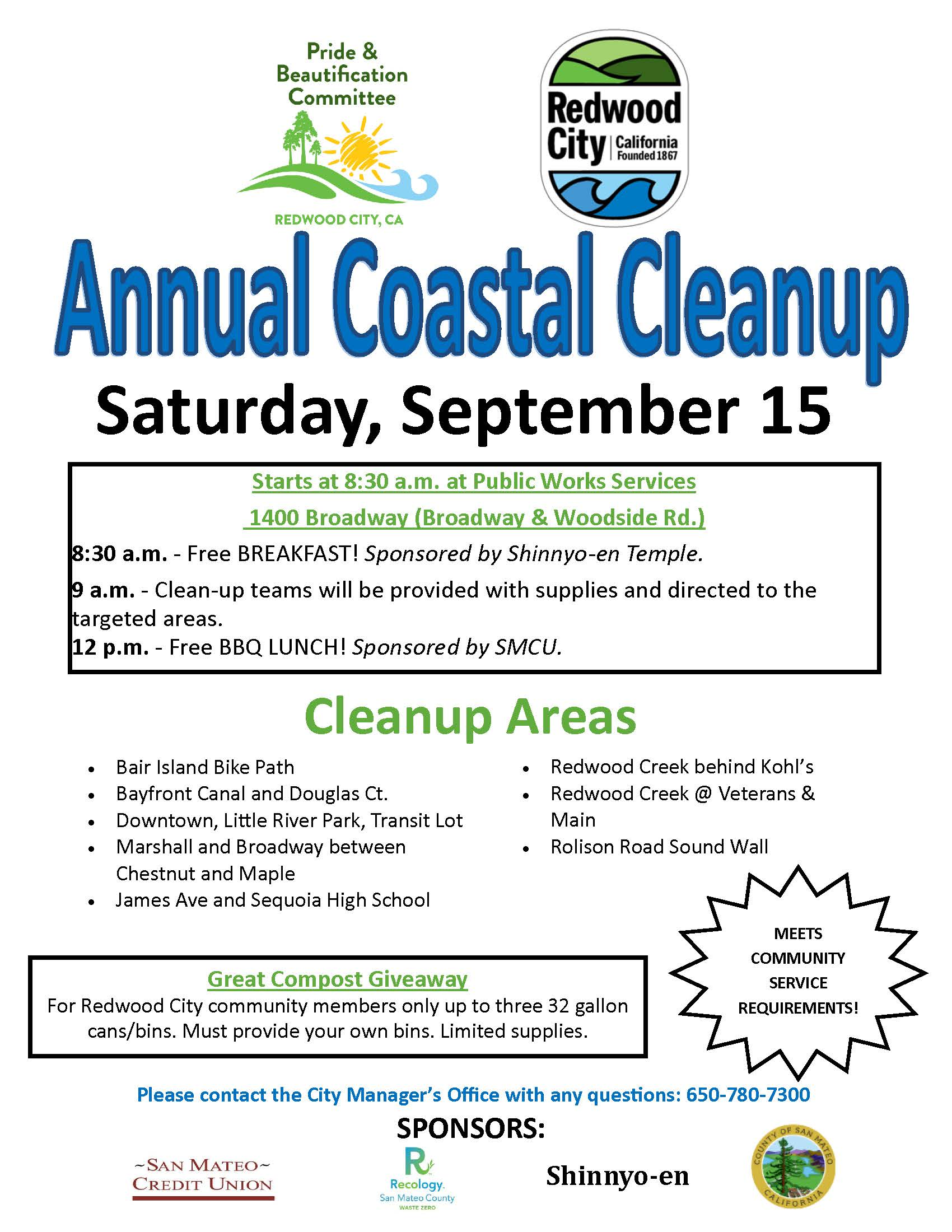 Coastal Cleanup 2018 Flyer