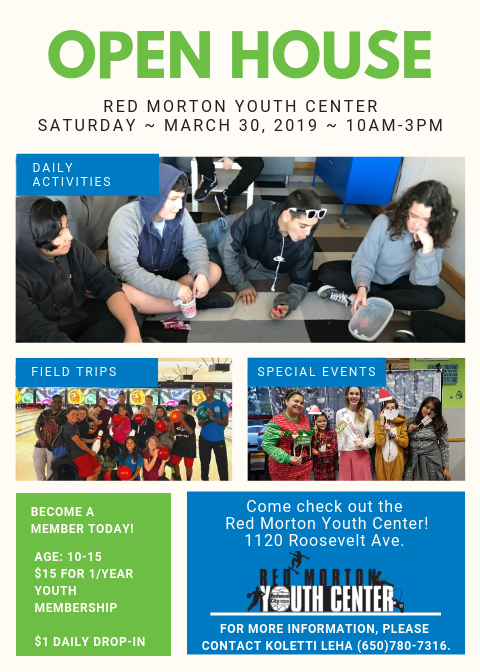 RMYC Open House Flyer 2019
