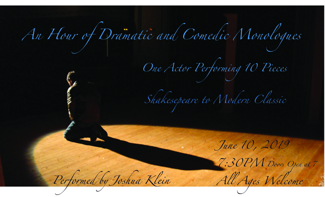 an evening of monologues