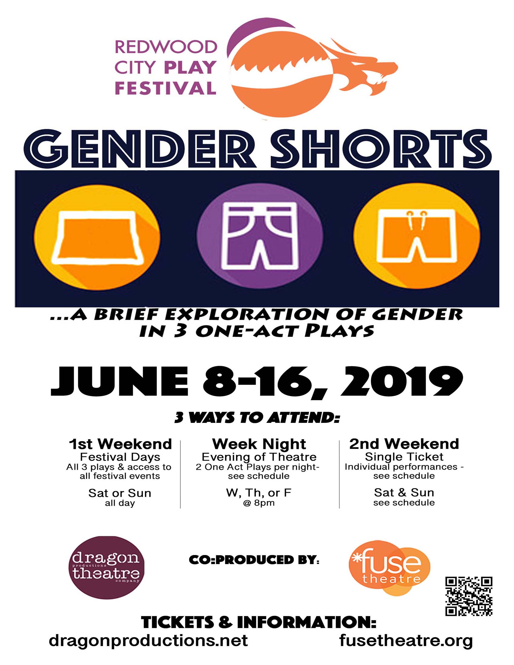 Redwood City Play Festival - Gender Shorts
