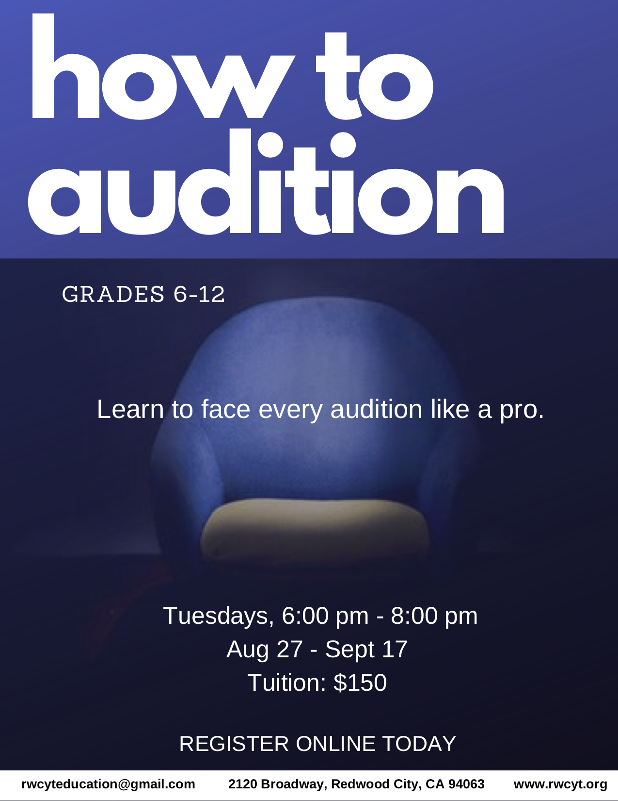How to Audition Grades 6-12