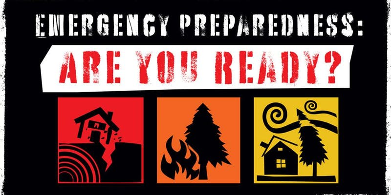 Emergency Prep Class Graphic