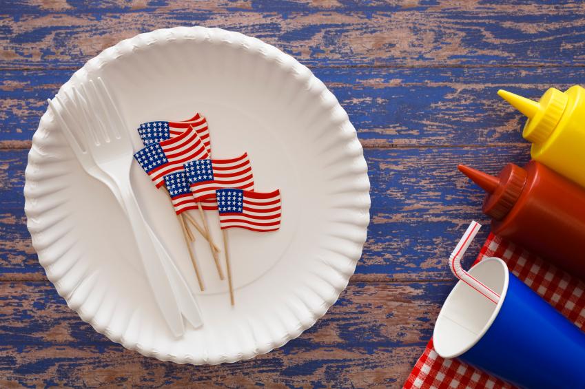 patriotic lunch