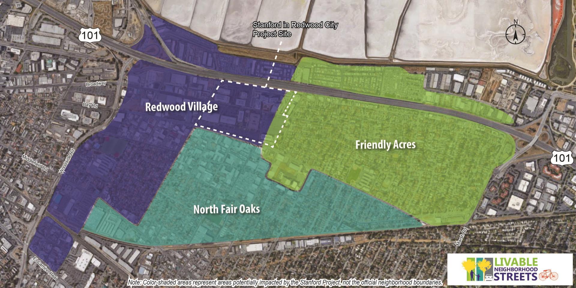 Livable Communities Project Area Map