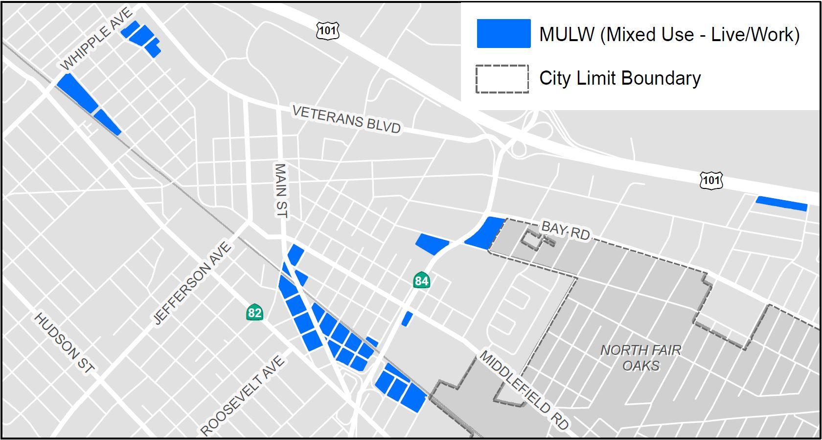MULW map simplied