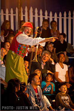 Zoppe Circus Nino
